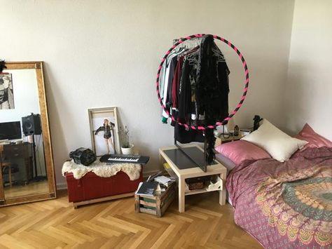 Kreativ angehauchtes WG-Zimmer in Berlin Mitte mit großem