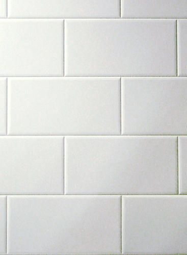 Metroliner White Faux Subway Tile Wall Panel A 4 X8 Board Is 20