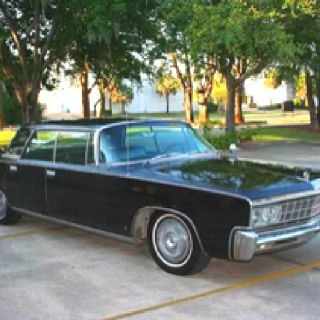 1966 Chrysler Imperial Crown Chrysler Imperial Green Hornet