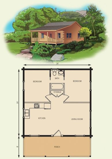 View the log cabin floor plan and request pricing information for the Aspen Log Home by Appalachian Log Structures. Small Cabin Plans, Log Cabin Floor Plans, Small Log Cabin, Small House Floor Plans, Cabin House Plans, Tiny House Cabin, Cabin Homes, How To Build A Log Cabin, Cabin Kits