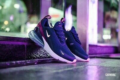 Nike Women's Air Max 270 Shoes AH6789 402 Blue VoidTrue