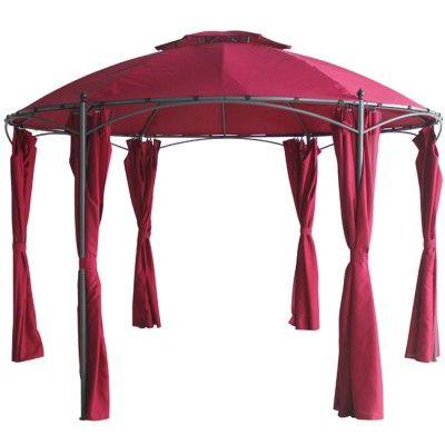 Decoration Mobilier Jardin Et Idees Cadeaux Gifi Rouge Bordeaux Tonnelle Bordeaux