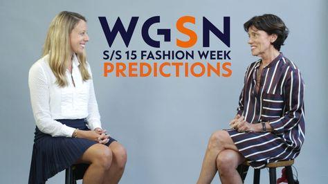 S/S 15 Fashion Week Predictions