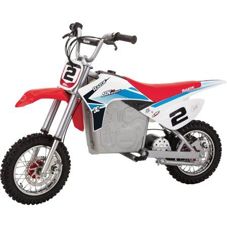 Razor Dirt Rocket Sx500 Mcgrath Cool Dirt Bikes Dirt Bikes For Kids Kids Motorcycle