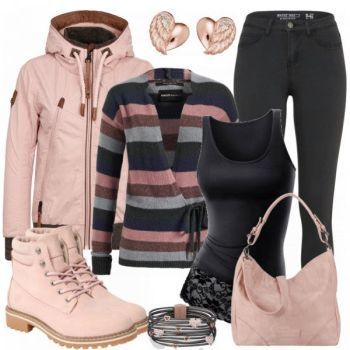 Mukda Damen Outfit Komplettes Winter Outfit günstig kaufen