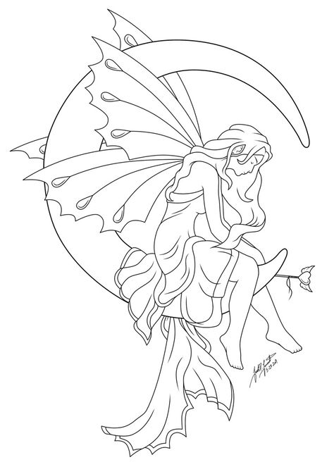 Guardian Spirit of Hope Line is part of Fairy coloring pages - Some more line art Hehe! Guardian Spirit of Hope Line Fairy Drawings, Pencil Art Drawings, Drawing Sketches, Fairy Coloring Pages, Adult Coloring Pages, Coloring Books, Kids Coloring, Tatoo Art, Fairy Silhouette