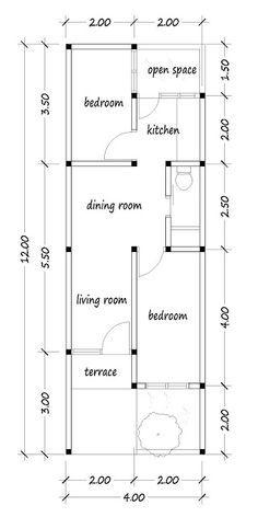 small house plans | ide apartemen, denah lantai rumah