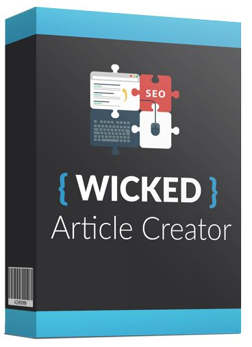Wicked Article Creator - Article Builder - Article Spinner - Article Creator Software - Download Free - Freebiely