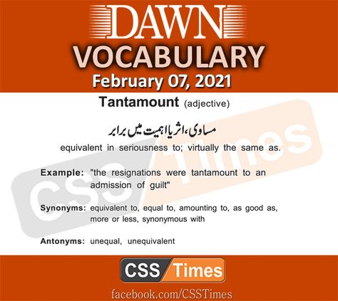 110 Css Vocabulary Ideas In 2021 Vocabulary Daily Dawn Dawn News