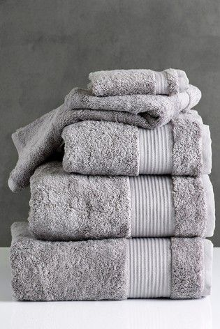 Dove Egyptian Cotton Pile Towel Egyptian Cotton Towels