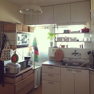 キッチン 社宅 北欧 無印良品 Ikeaのインテリア実例 2015 05 05 16