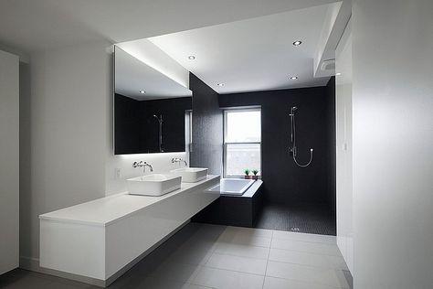 Bagno Moderno Bianco E Nero.100 Idee Di Bagni Moderni Disegni Piastrelle Da Bagno Bagni