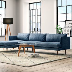Sectionals You Ll Love Wayfair Furniture Velvet Sectional Most Comfortable Couch,Small Living Room Furniture Arrangement Ideas