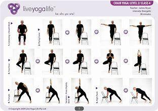 Image Result For Chair Exercises For Seniors Pdf Flex Bands Yoga For Seniors Easy Yoga Poses Chair Yoga