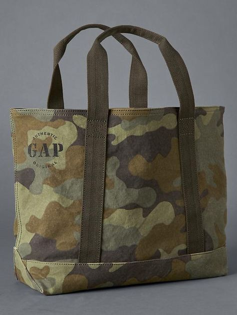 Cotton Tote Bags, Reusable Tote Bags, Camo Bag, Men's Totes, Patchwork Bags, Denim Patchwork, Utility Tote, Big Bags, Baby Kids Clothes