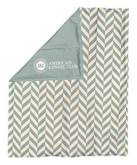 American Kennel Club Blue Herringbone Reversible Cooling Mat