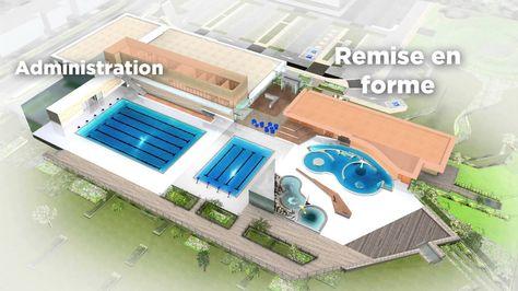 PLAN piscine publique - Recherche Google Centre Aquatique