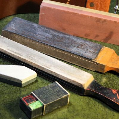How To Sharpen A Straight Razor Best Stropping Honing Guide Straight Razor Razor Strop Razor
