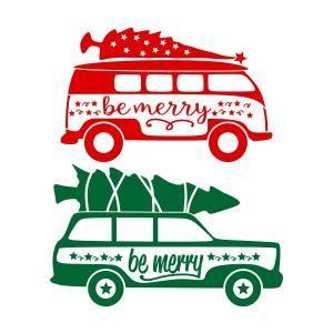 Christmas Tree On Top Station Wagon Svg Cuttable Design Silhouette Christmas Christmas Designs Christmas Tree Lots