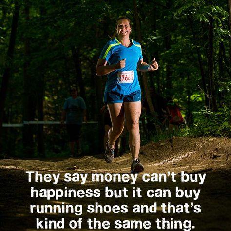 #running = #happiness