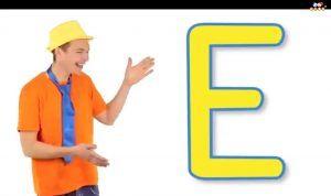 آموزش افبای انگلیسی حرف E Alphabet E Alphabet Okay Gesture