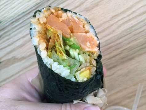 Good Taste A Sushi Burrito Game Changer Sushi Burrito Food