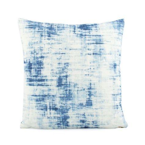 Paint Stroke Print Pillow