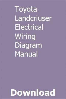 Toyota Landcriuser Electrical Wiring Diagram Manual Physical Chemistry Differential Equations Partial Differential Equation