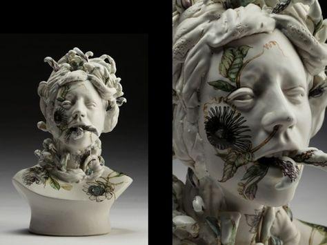 Viral Seriesas, surreal ceramic sculptures | Jess Riva Cooper