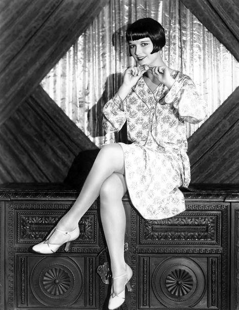 Louise Brooks, silent film actress