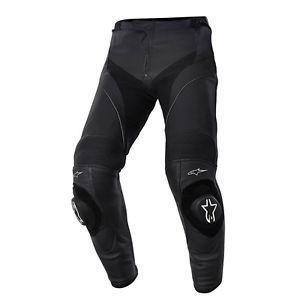 A Alpinestars Missile Cuero Carrera Deportiva Moto Pantalones Pantalones Pantalones De Cuero Estilo Deportivo