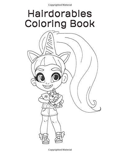 Hairdorables Coloring Book 50 Hairdorables Coloring Page Https Www Amazon Com Dp 1793479453 Ref Cm S Coloring Books Cartoon Coloring Pages Coloring Pages