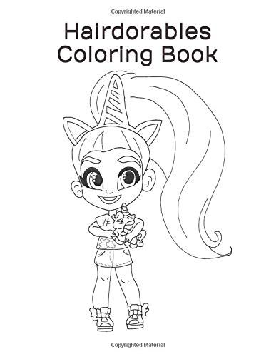 Hairdorables Coloring Book 50 Hairdorables Coloring Page Https