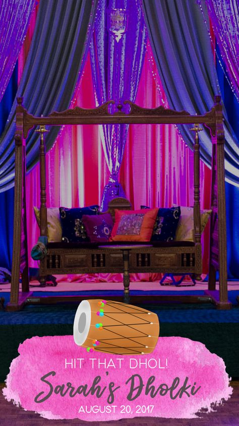 Peacock Indian Wedding Geofilter Mehendi Dholki Sangeet Snapchat filter Peacock-Themed Mehndi Geofilter Peacock Party Peacock Party idea