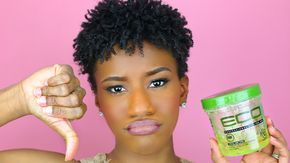 Five Styling Gels That Actually Work Ig Iamtraeh Ecostyler Gel Natural Hair Natural Hair Gel Coiling Natural Hair
