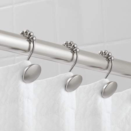 Home In 2020 Shower Rod Shower Shower Curtain Hooks