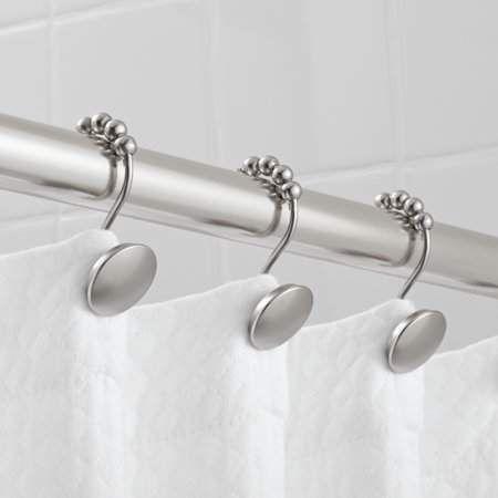 Home In 2020 Shower Rod Shower Shower Curtain Hooks