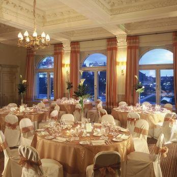 Balmoral Luxury 5 Star Hotel Edinburgh Wedding Receptions