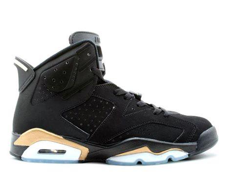 564f2eb0dfe5 Air Jordan Retro 6 Shoes In Black Gold