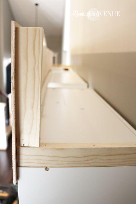 Ikea Billy Bookcase Library Hack (con imágenes) | Trucos