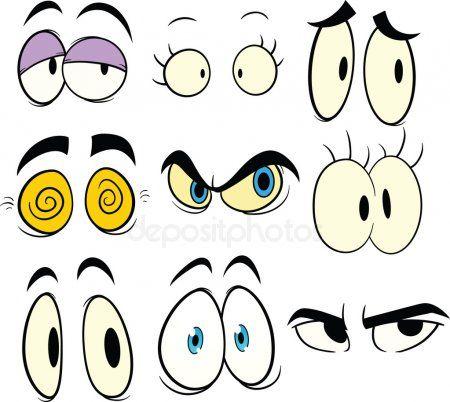 Olhos De Desenho Animado Ilustracao De Stock Olhos Desenho Animado Olhos Desenho Coisas Para Desenhar