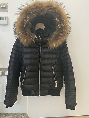 Ad Ebay Url New Holland Cooper Black Down Puffer Jacket Small Rrp 699 Real Fur In 2020 Black Down Puffer Jackets Jackets