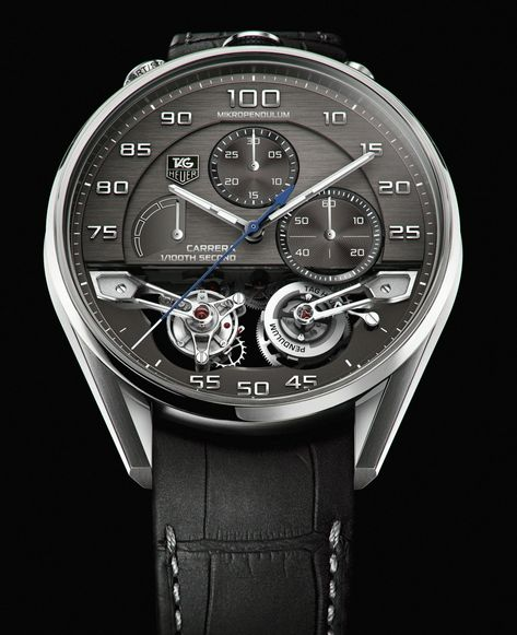 First Look: TAG Heuer Mikropendulum Tourbillon | The Home of TAG Heuer Collectors - Page 2