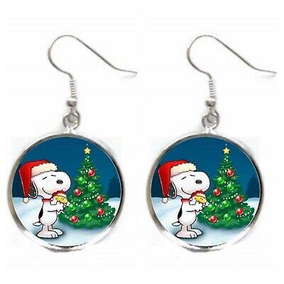 Peanuts Christmas Earrings