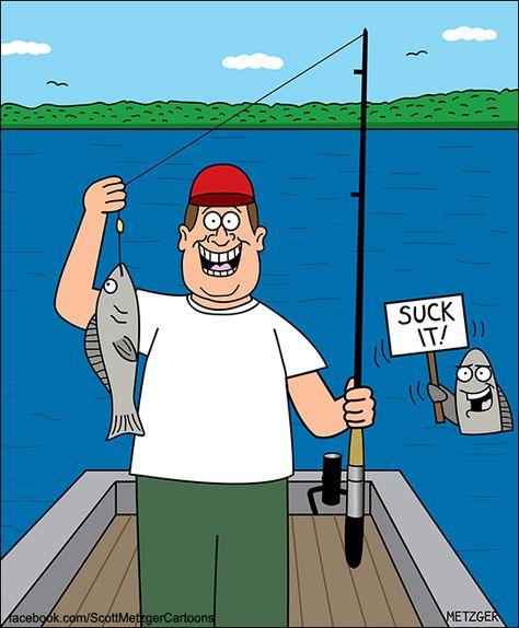 500 Fishing Cartoons Ideas Fishing Humor Funny Fishing Jokes