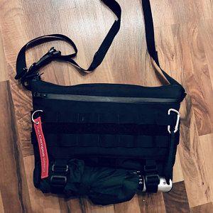 Bike Bag Crossbody Bag Commuter bag Cycling Bag EDC Messenger Bag Shoulder Bag Unisex D4 STLTH Messenger Techwear Laptop Bag