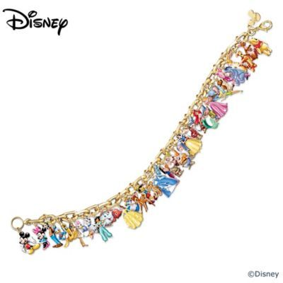 Shop The Bradford Exchange Online for Ultimate Disney Classic Charm Bracelet Celebrate the Magic with an enchanting reminder of our most treasured memories with Disney through the years! A fine jewelry design available from The Bradford Exchange, this sparking...