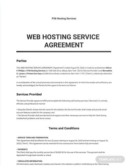Pin On Agreement Templates Designs