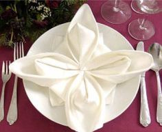Lotus napkin fold dinner napkins napkins and lotus napkin folding mightylinksfo