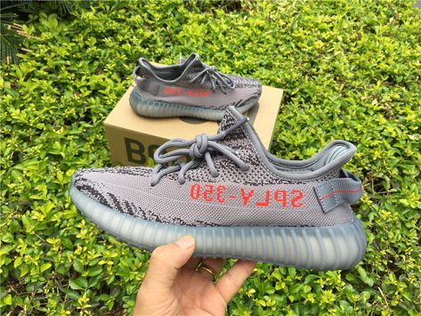 "best website c7a6e 065a7 Adidas Yeezy Boost 350 V2 ""Beluga 2.0"" GreyBold Orange-Dark Grey AH2203 –  New Yeezy 2018"